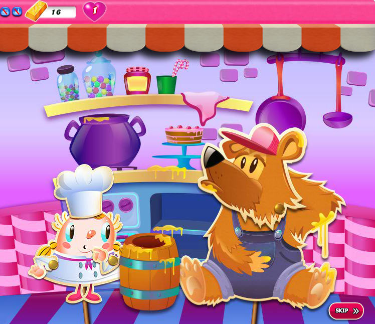 Candy Crush Saga 1311-1325