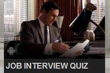 Mad Men Job Interview Quiz