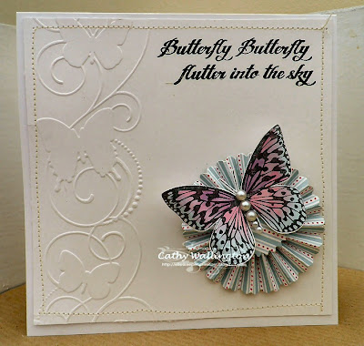 visible image stamps - butterfly stamp - butterfly sentiment stamp