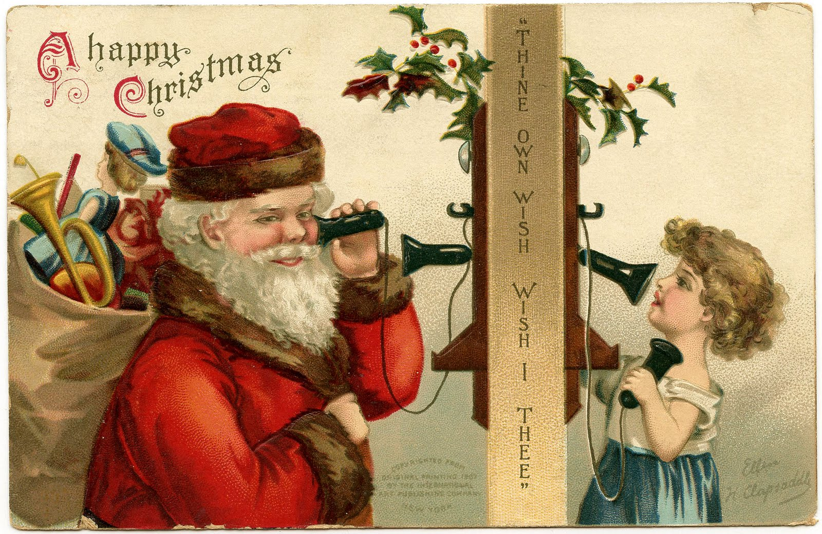 old fashion christmas wallpaper free-#37