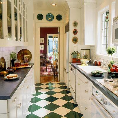 decorar decoracin - Cocinas Rectangulares