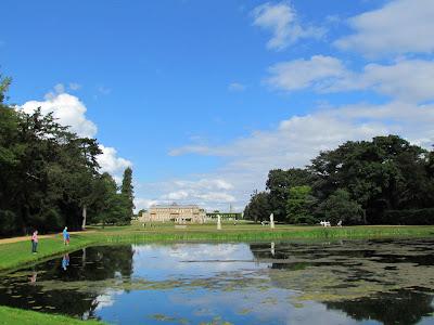 Long Lake, Wrest Park, English Heritage, visit