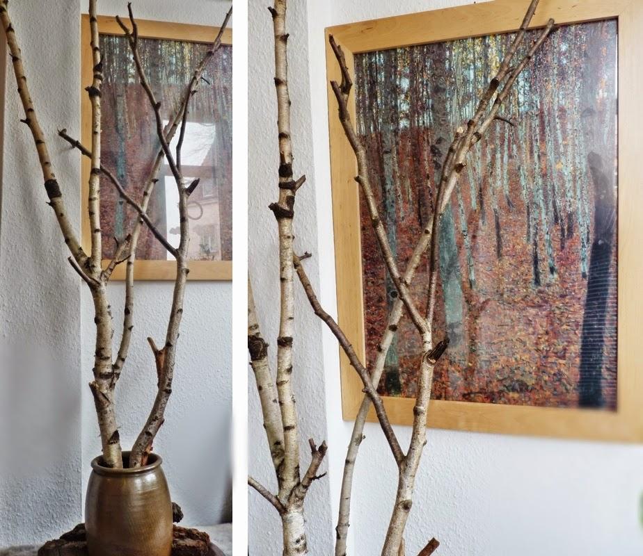 buchenhain mit birken in 3 d. Black Bedroom Furniture Sets. Home Design Ideas