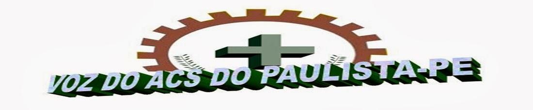 VOZ DO ACS DO PAULISTA-PE