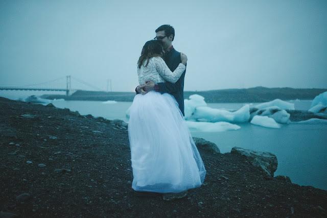 Iceland, wedding, elope, Vik, glacier, lagoon