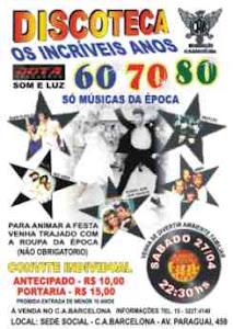 Discoteca Anos 60,70 e 80