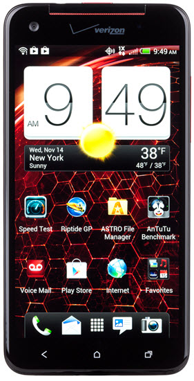 Verizon Droid DNA phone by HTC