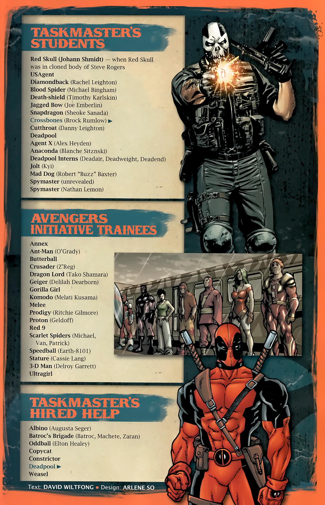 Read online Taskmaster (2010) comic -  Issue #1 - 30