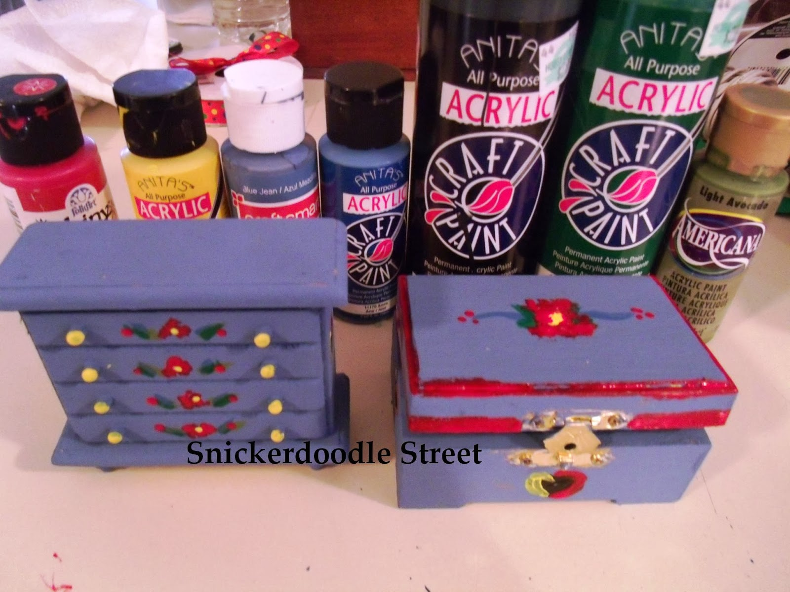 The AG Minis of SNICKERDOODLE STREET: My DIY Hand Painted Kirsten ...