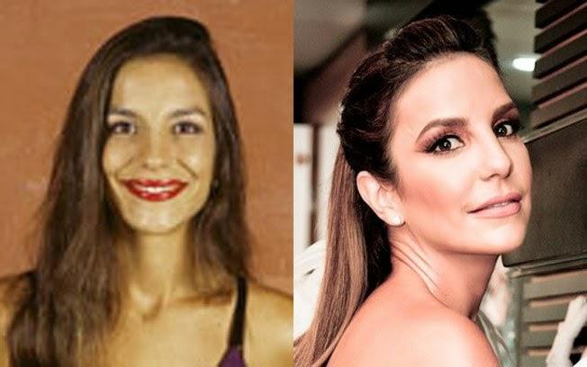 Antes e depois - Tempo amigo - BRUNA PEGORARO  Ivete Sangalo Antes Da Fama