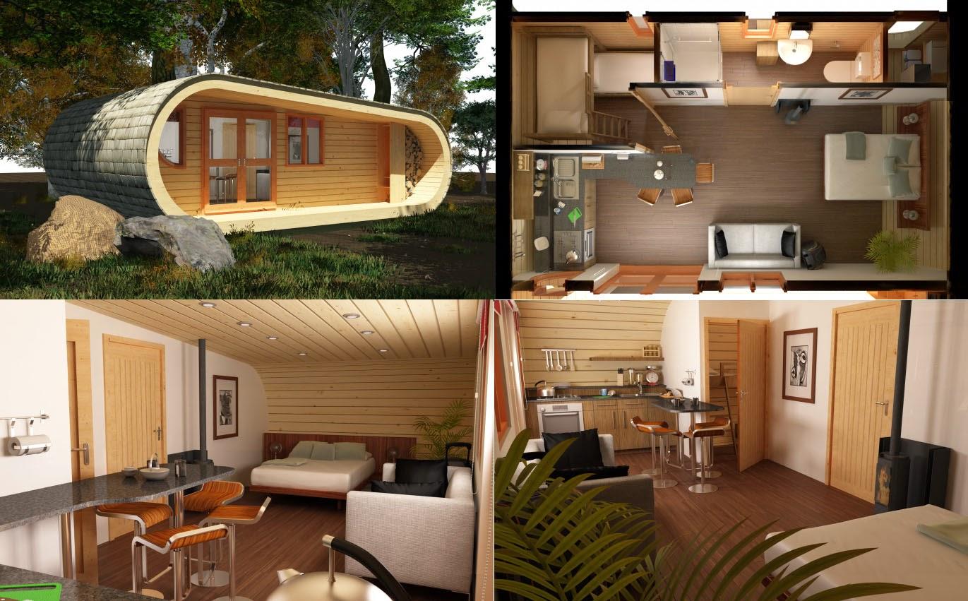 Ecocasa portuguesa eco casas casa modular feita de madeira for Design eco casa verde
