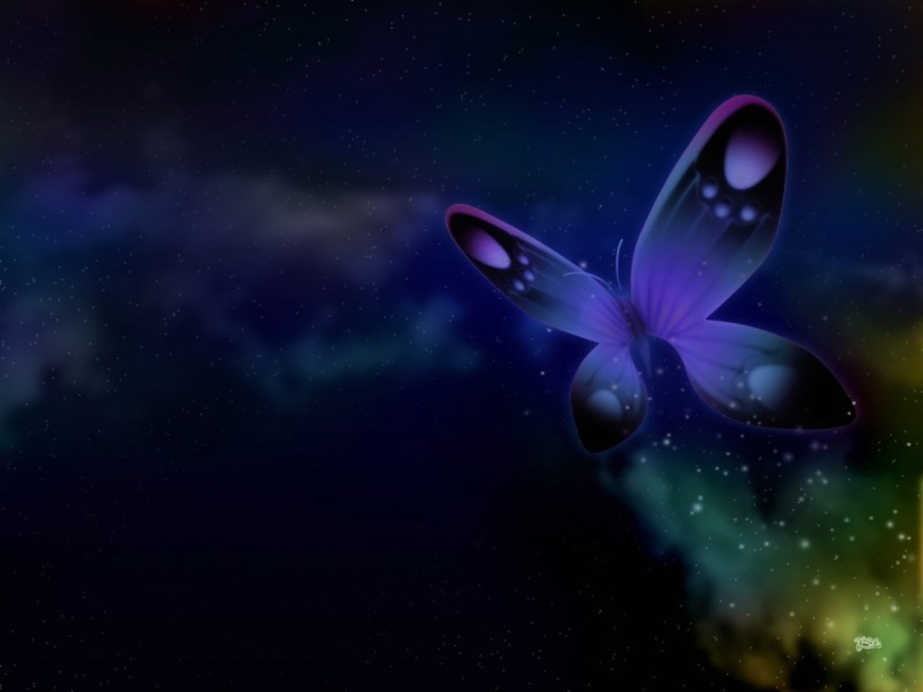 Blue Butterfly Wallpaper butterflies