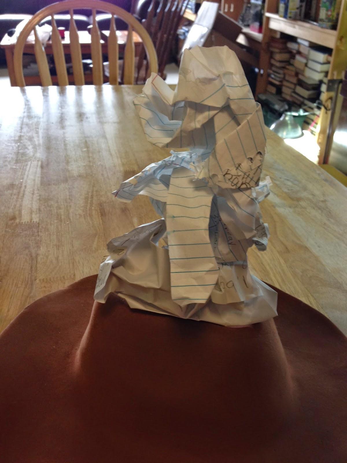 Sorting Hat Tutorial. It looks so awesome! #harrypotter #sortinghat #tutorial