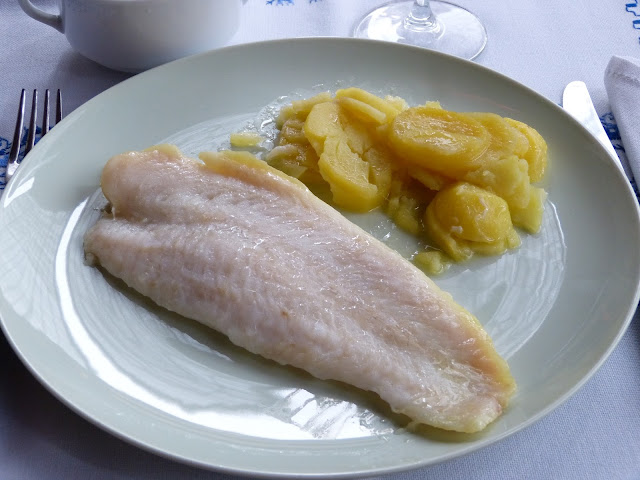 Pescado con patatas