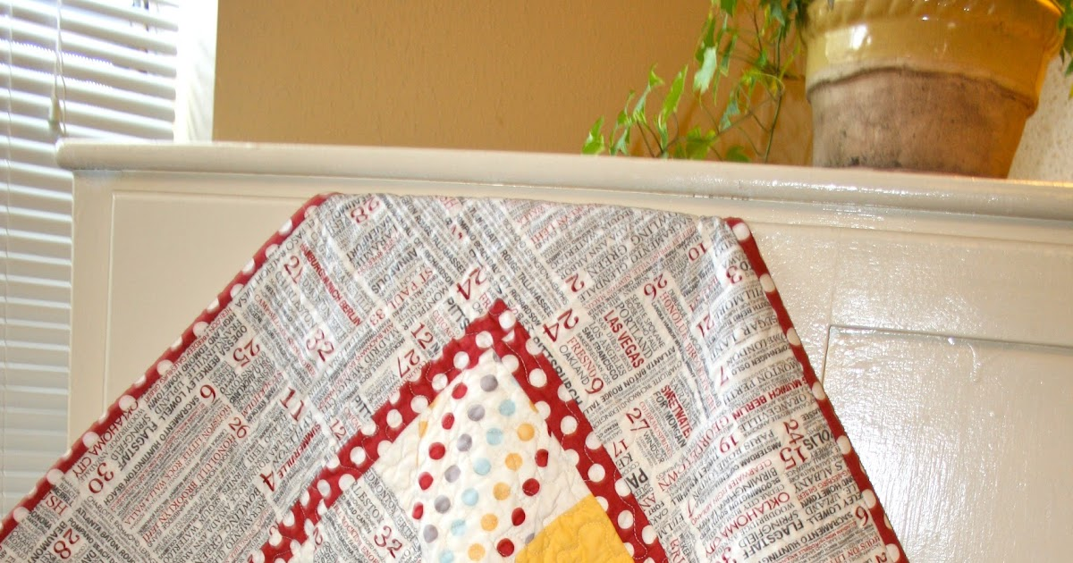 The Tulip Patch Finish Xquisite Baby Quilt