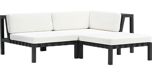 modern outdoor sectional. The Look For Less: Outdoor Sectional Modern
