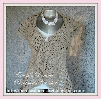 Colete Circular Croche