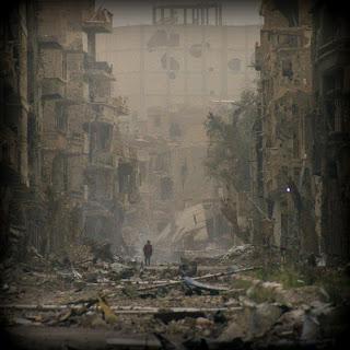 Miedo me da la guerra. Siria. Abuelohara