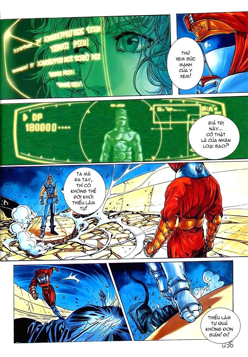 Cyber Weapon Z - Siêu Thần Z chap 3 - Trang 29