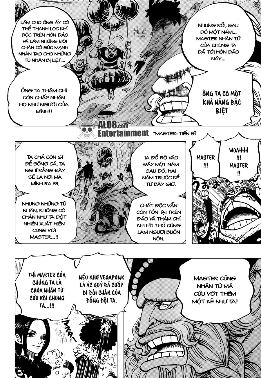 One Piece Chapter 664: Master Caesar Clown 013