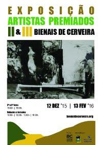 ARTISTAS PREMIADOS I E II BIENAL DE CERVEIRA