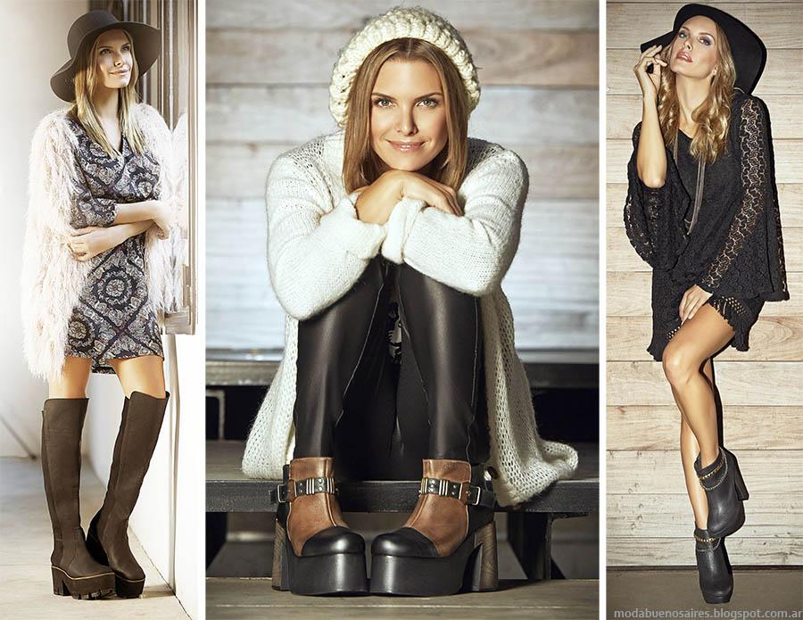 Moda otoño invierno 2015: Calzados Batistella zapatos, zapatillas y botas invierno 2015.