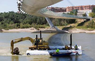 Dragando el Ebro 2015