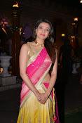 kajal agarwal photos in half saree-thumbnail-9