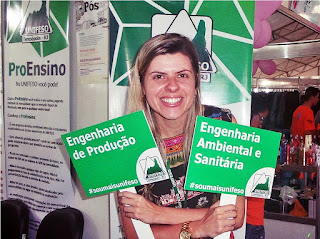 Professora Vivian Telles Paim, coordenadora dos cursos de Engenharia Ambiental e Sanitária e Engenharia de Produção do UNIFESO
