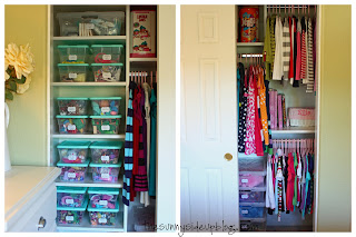 Kids' Closet Organization