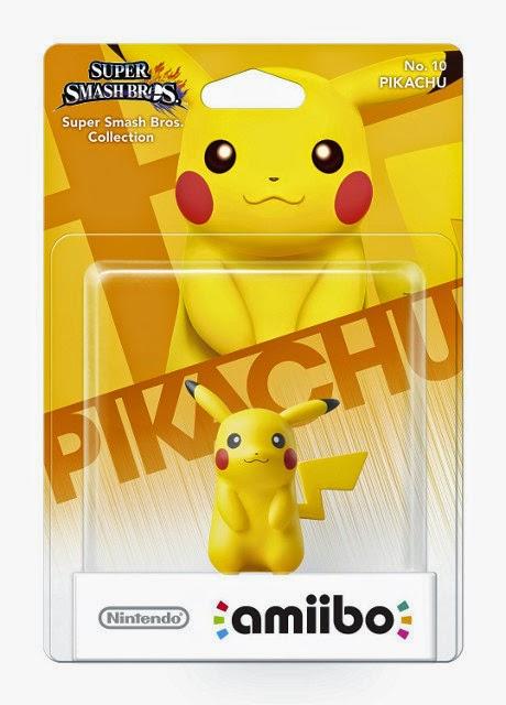 JUGUETES - NINTENDO Amiibo - 10 : Figura Pikachu (Pokémon)  (28 noviembre 2014) | Videojuegos | Muñeco | Super Smash Bros Collection   Plataforma: Wii U