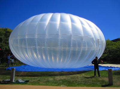 A Loon Balloon at a TGIF Event