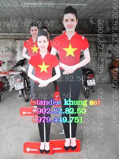 standee mô hình