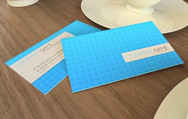 Subtle Business Card PSD Template