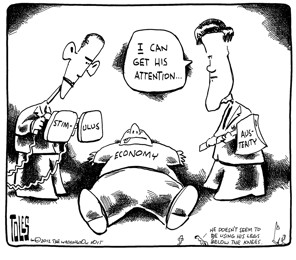 Tom Toles | Two approaches to reviving the economy