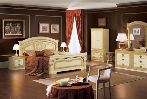 chambre ambiance romantique. Black Bedroom Furniture Sets. Home Design Ideas