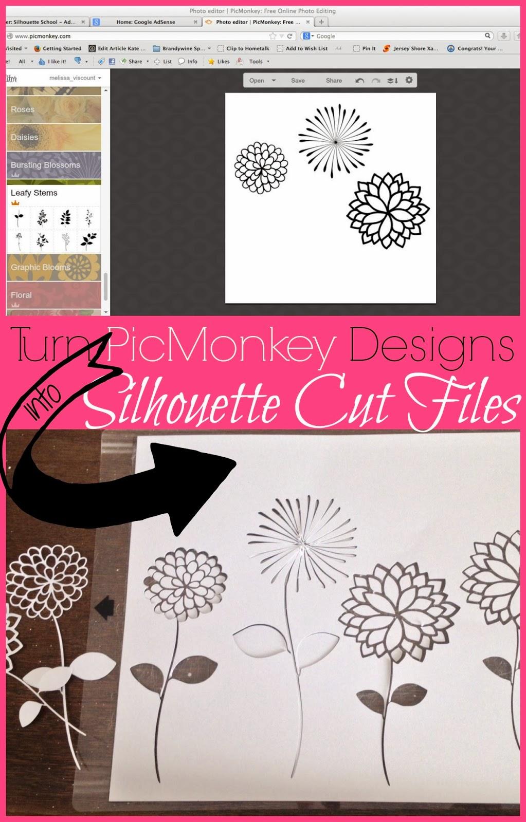 http://www.silhouetteschool.blogspot.com/2014/03/how-to-cut-picmonkey-designs-in.html