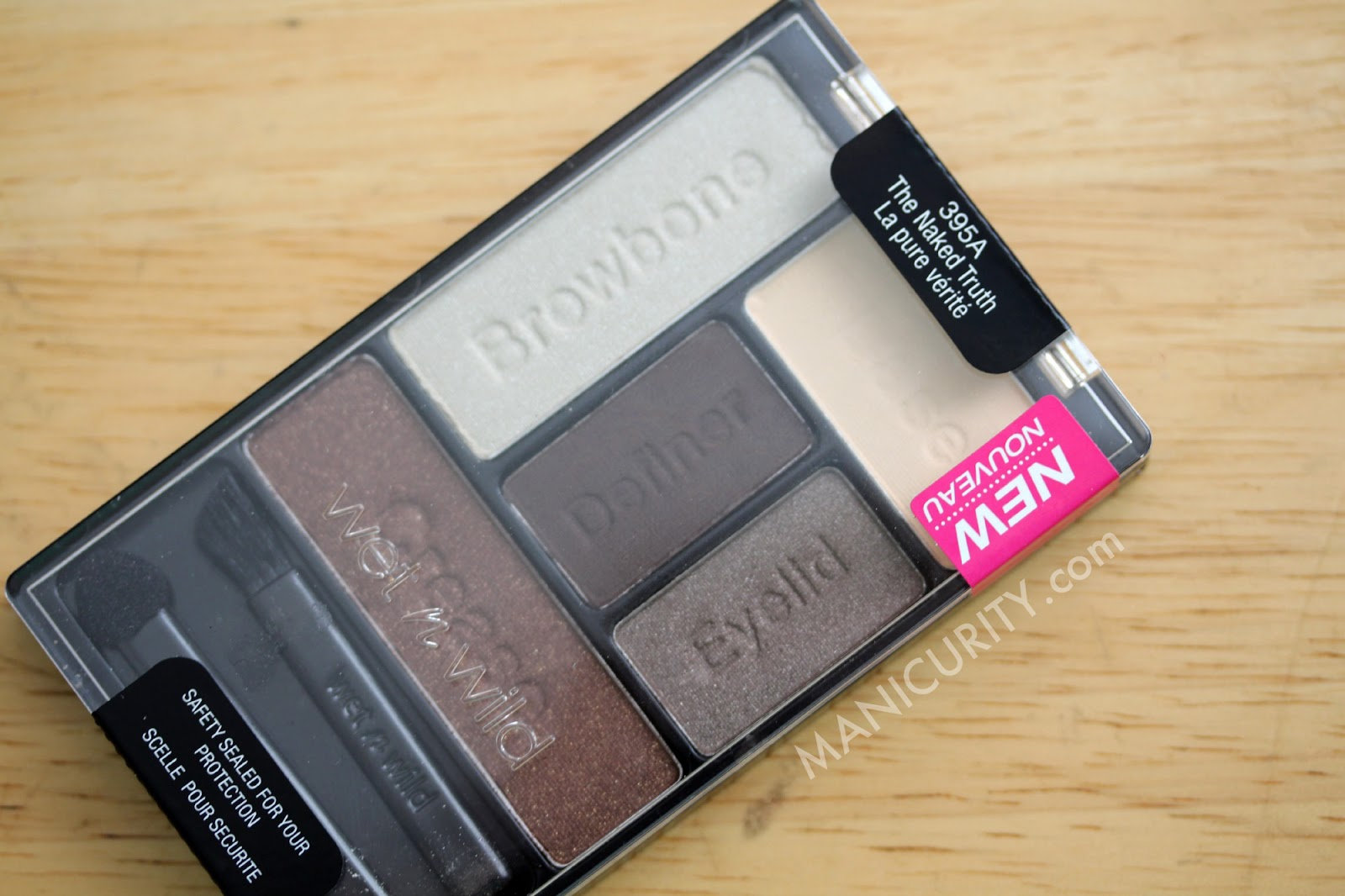Wet n Wild 5-pan Color Icon eyeshadow palette in 'The Naked Truth' - swatches, looks, review | Manicurity.com