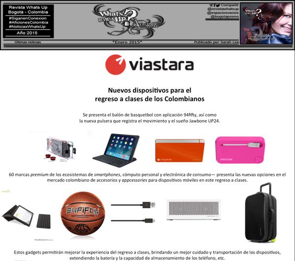 Viastara-Presenta-nuevos-dispositivos-clases-mercado-Colombiano