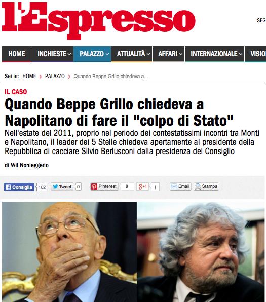 http://espresso.repubblica.it/palazzo/2014/02/11/news/quando-beppe-grillo-chiedeva-a-napolitano-di-fare-il-colpo-di-stato-1.152583