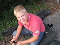 Bastiaan Cappendijk - één van de karpervissers uit dit Amsterdamse Karper Team