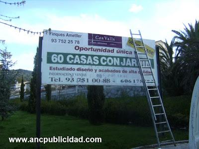 Valla Publicitaria Cabrils
