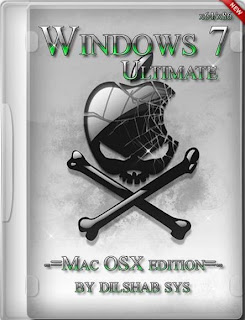 Windows 7 Ultimate SP1 (x86/x64) Mac OSX Edition 2013 Full Version