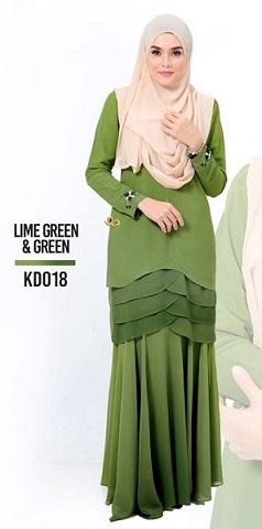 NBG08 BAJU KURUNG DEWI 2.0 (NURSING AND WUDUK FRIENDLY)