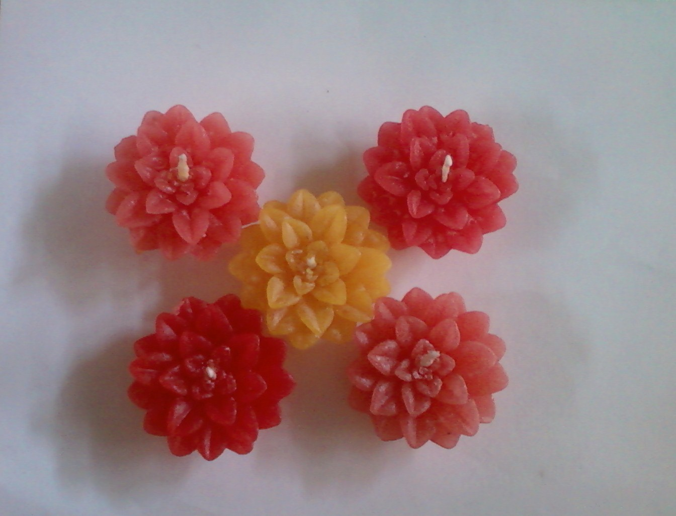 Anitakumarcandlecraft Floating Flower Candles