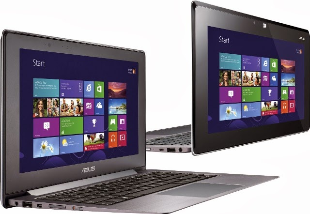 ASUS TAICHI 21 Dua Layar Notebook & Tablet