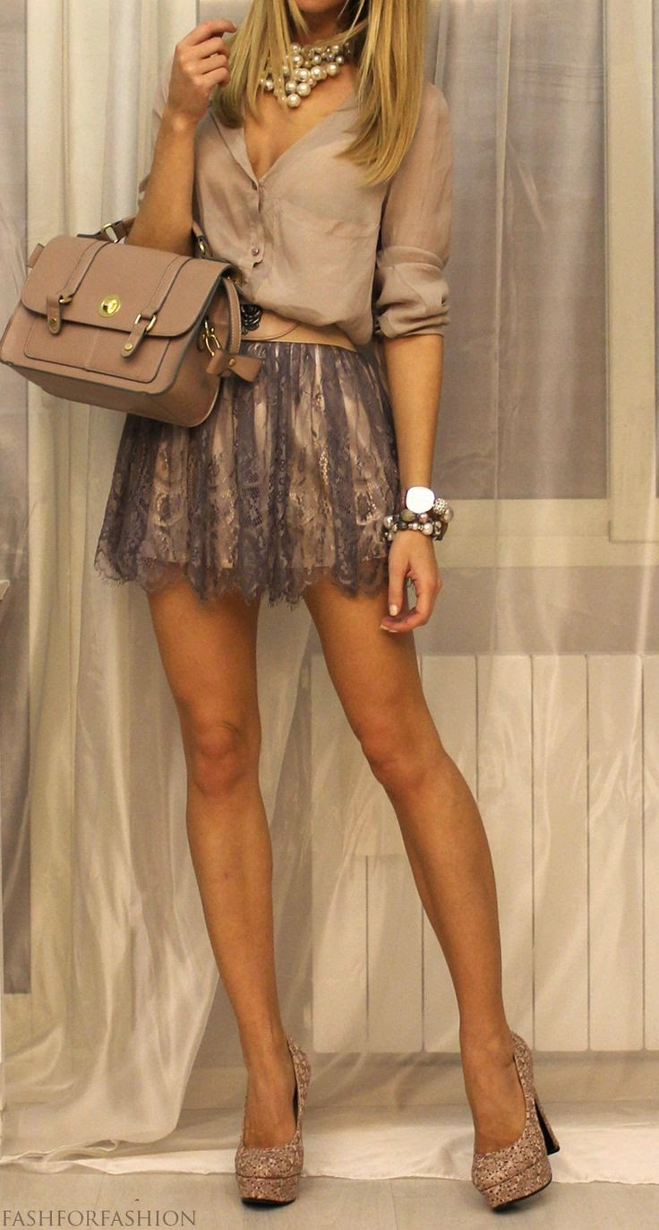 Beige fashion outfits