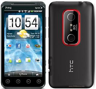 HTC EVO 3D CDMA 2011