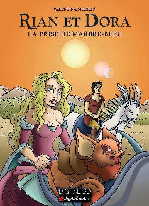 Rian et Dora- La prise de marbre-bleu