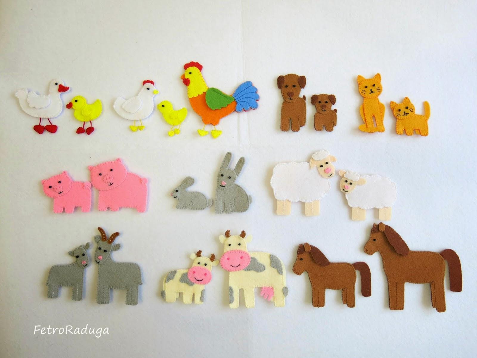 Как сделать домашних животных для поделки
